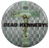 Dead Kennedys - 'In God We Trust, Inc' Button Badge